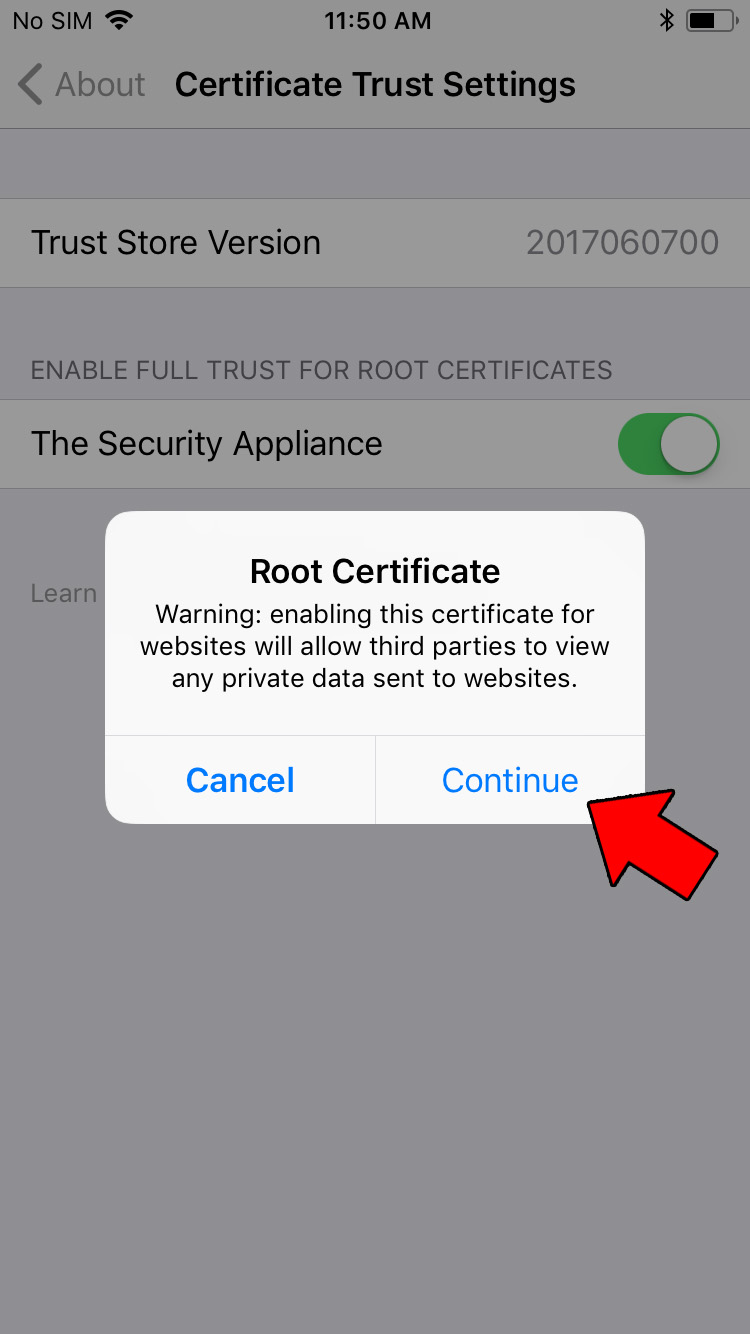 How to Install an iOS Configuration Profile – CareTech Computing