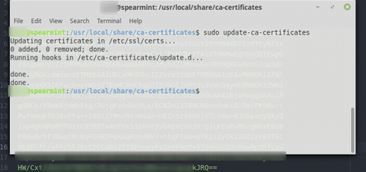 SSL Certs for the Linux Command Line