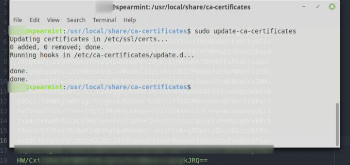 SSL Certs for the Linux Command Line